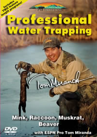 Professional Water Trapping with Tom Miranda Double DVD #SW9059